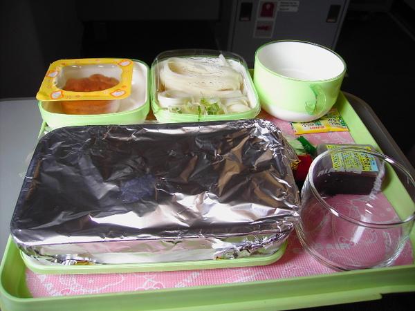 好吃又可愛的飛機餐