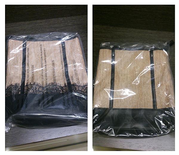 蕾絲包未拆塑膠袋