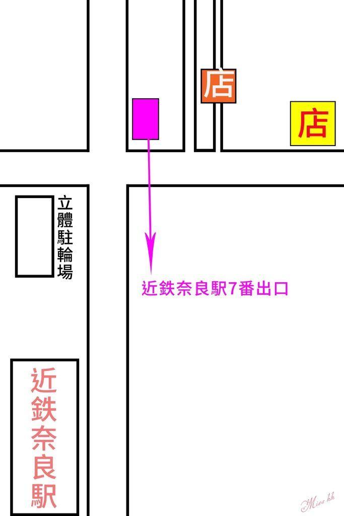奈良腳踏車地圖