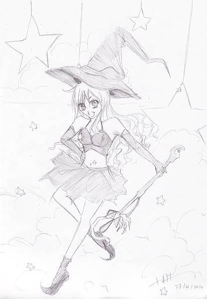 小紫畫的魔女大人vvv