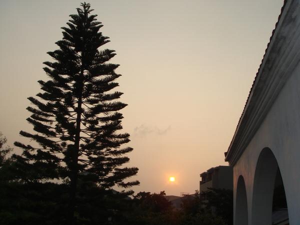 台南的黃昏
