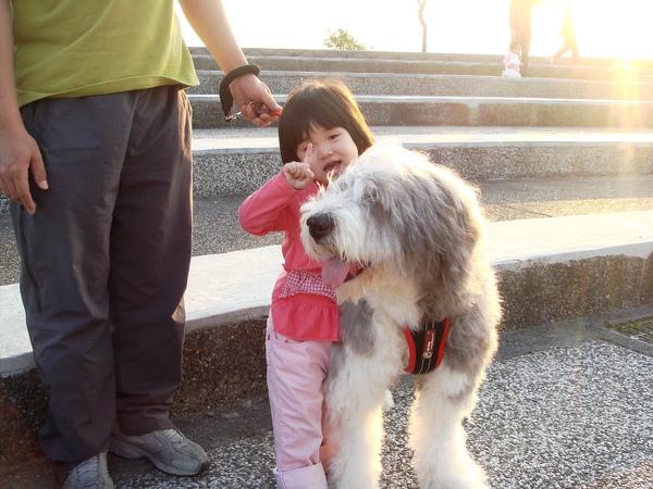 大狗狗和我YAYA