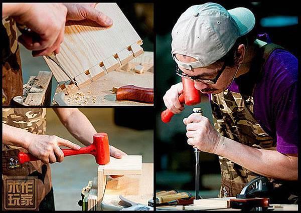 對木工工具認識增加創作穩定度及操作效率
