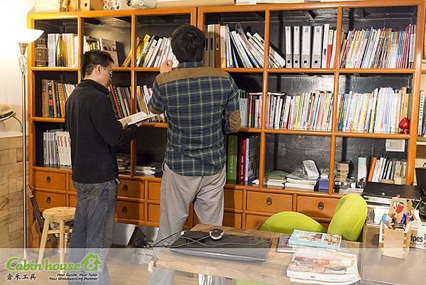 郁田工藝社木工教室環境
