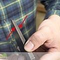 日式刨刀刀片用貼鋼方式處理