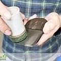 裝入刀片時候與研磨後必須抹油保養