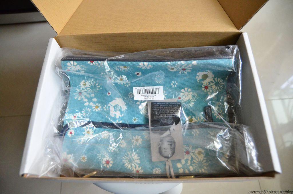 JASON WUxTarget藍色小碎花包包 (2)