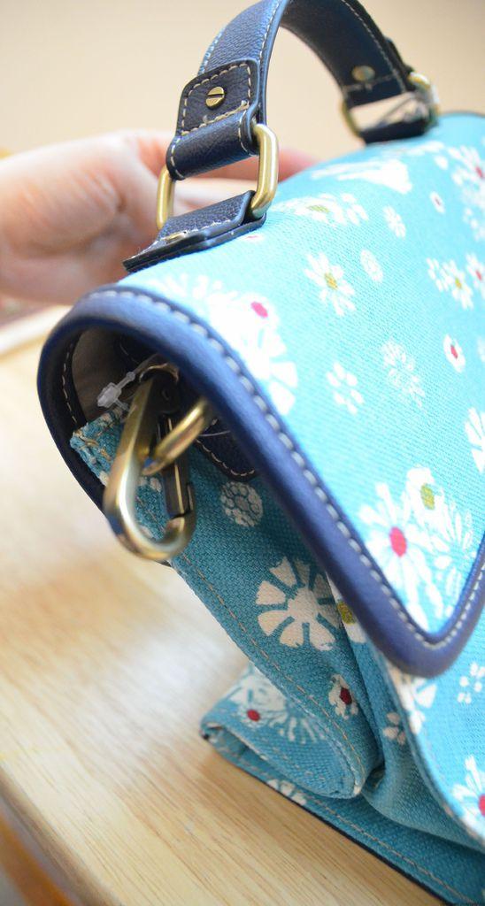 JASON WUxTarget藍色小碎花包包 (12)