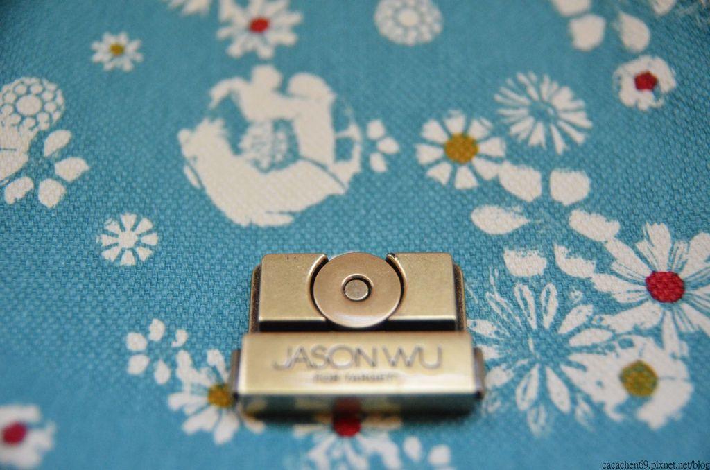 JASON WUxTarget藍色小碎花包包 (18)