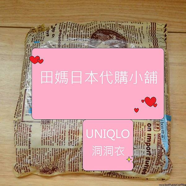 UNIQLO洞洞衣 (1)