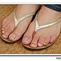 Calgel光療指甲~鑽石糖
