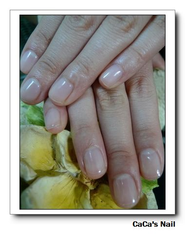 Calgel光療指甲~可強健軟指甲