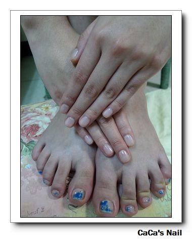 Calgel光療指甲~手足保養+光療