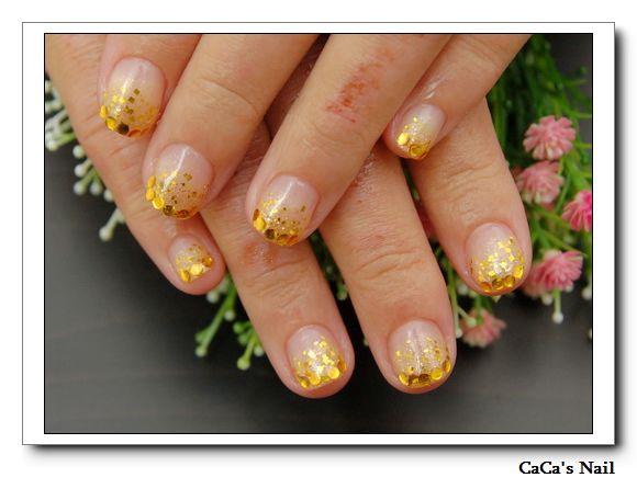 Calgel光療指甲~指尖小皇冠