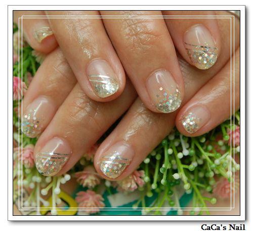 Calgel光療指甲~流線