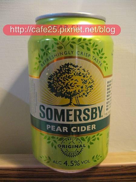 瑞典Somersby夏日蜜梨子酒