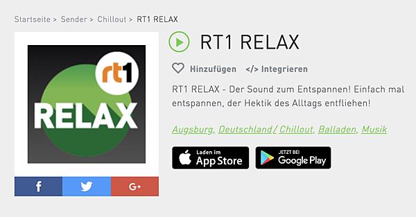 (德國電台)RT1 RELAX