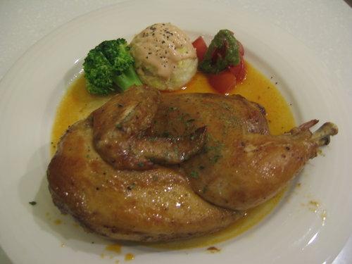 迷迭香燒烤春雞