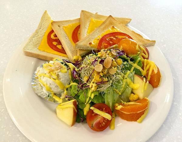 天空藍蔬食