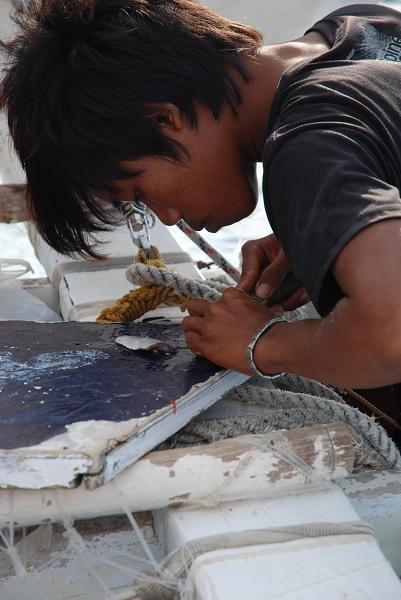 這是釣魚用沙西米