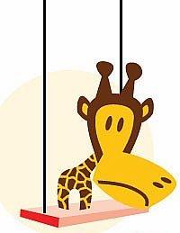 猴子長頸鹿