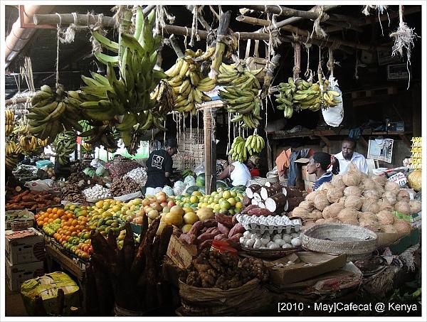 肯亞的傳統市場和台灣的頗像
