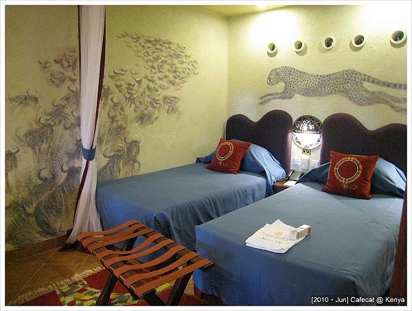 惠娟的房間壁畫好讚喔~~~是獵豹耶!!!