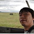 Nakuru很多白犀牛