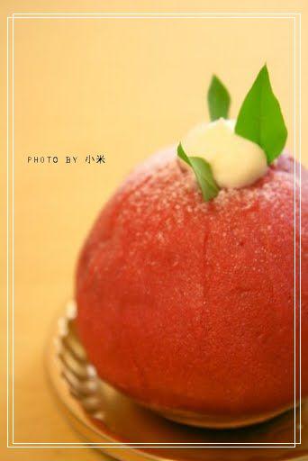 煉切り苺のチーズタルト by 梅芯庵