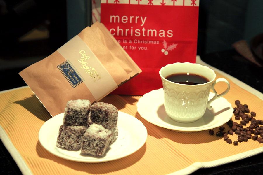 冬之慶典咖啡掛耳包+萊明頓蛋糕