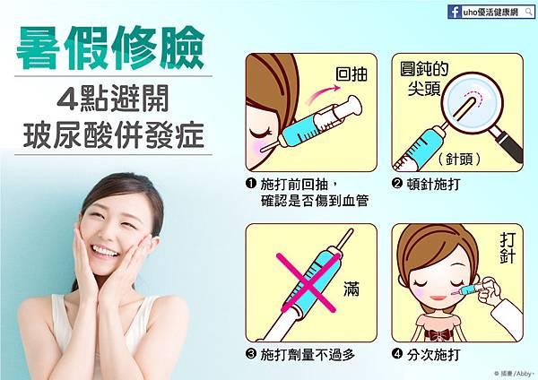 暑假修臉,4點避開玻尿酸併發症 (圖卡)圖文1。.jpg