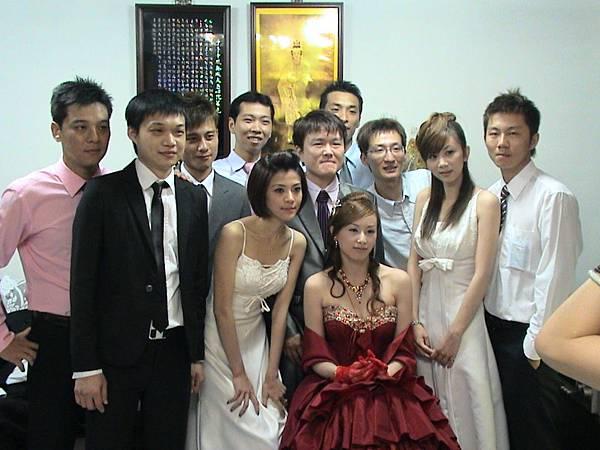新郎新娘&伴郎伴娘