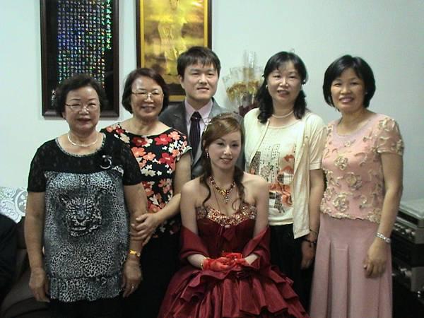 新郎新娘&新娘的阿姨們