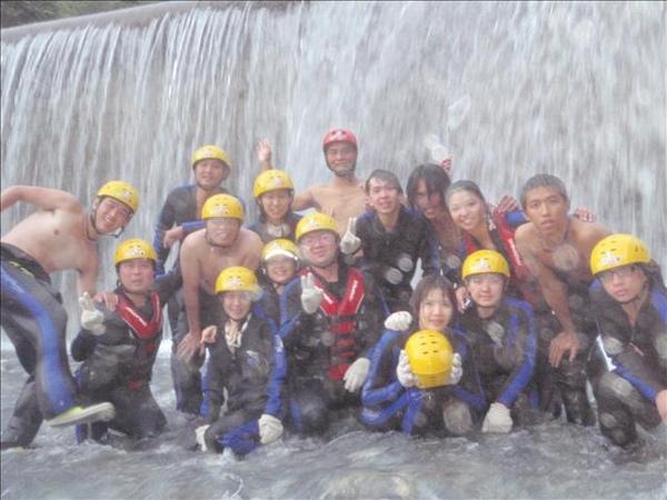 颱風後-超強的水柱