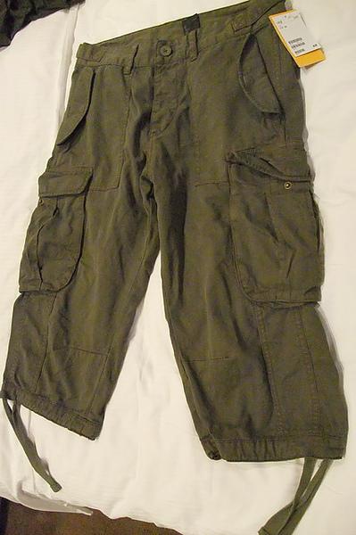 我的H&M7分褲.JPG