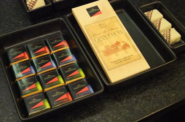 20090705 06各種試吃的巧克力.JPG