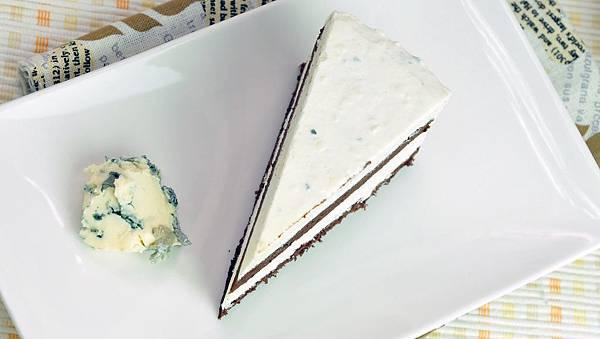 藍紋乳酪冰淇淋巧克力蛋糕