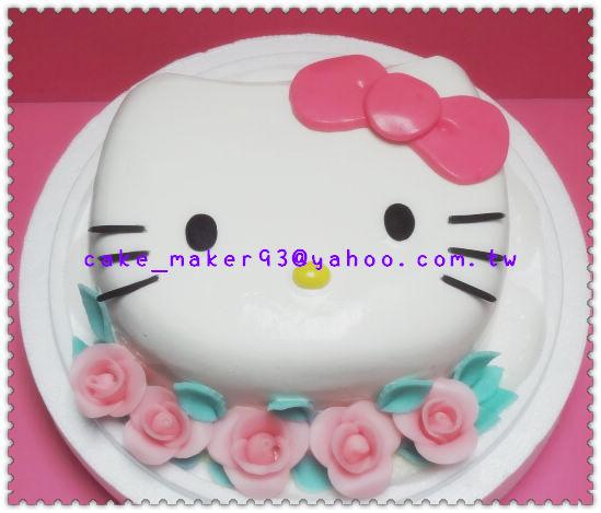 KT8吋立體臉型蛋糕