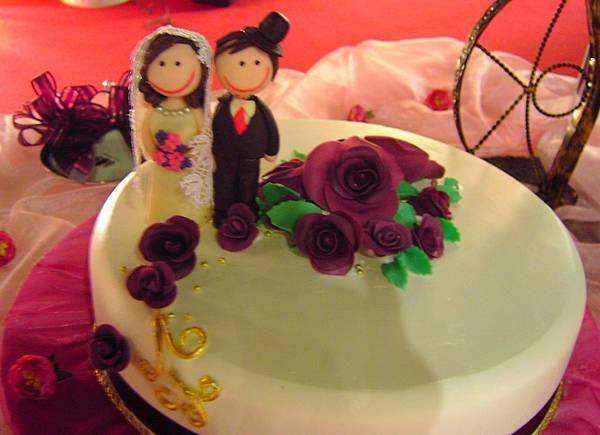 結婚造型蛋糕