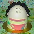 立體花媽6/16造形蛋糕