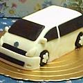 休旅車造形蛋糕