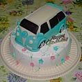 福斯休旅造型蛋糕