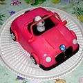 史努比汽車造型蛋糕