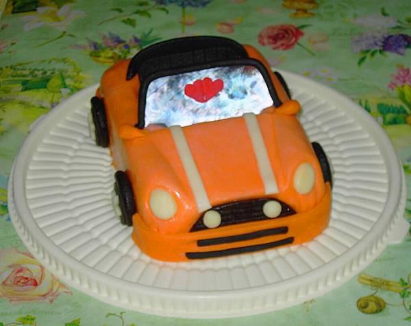 奧斯丁汽車造型蛋糕2