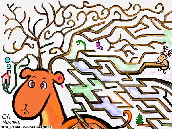 2012聖誕卡_麋鹿的迷宮.jpg
