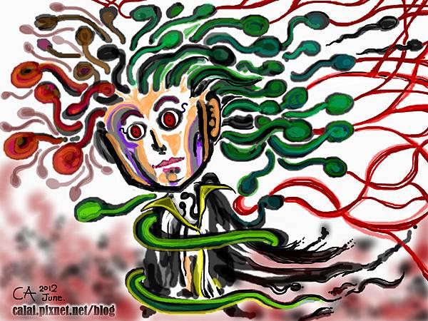 希臘神話_蛇髮女妖梅杜莎