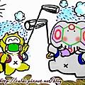 山竹果汁舖吉祥物H1N1新流感退散之舞.jpg