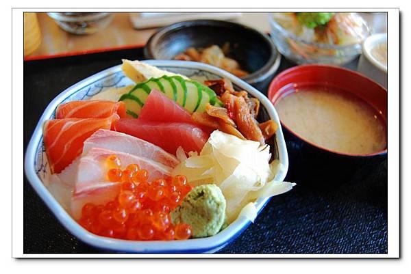 吉兆庵(櫻之居)散壽司2.JPG