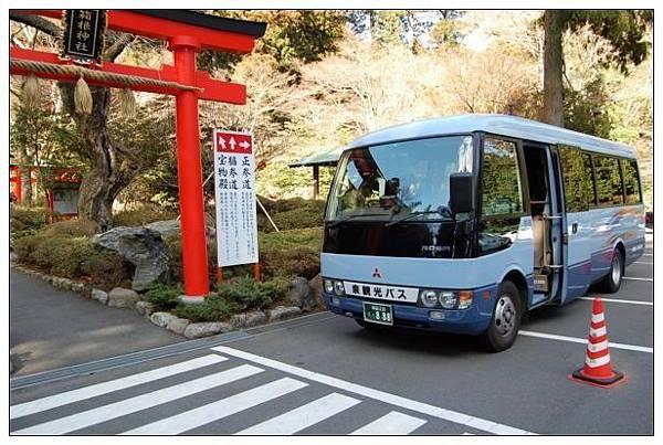 箱根神社之bus.JPG