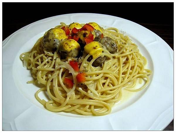 牛肉丸義大利麵3